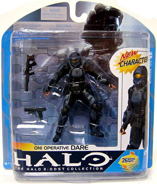McFarlane Toys Halo 3 Series 7 ONI Operative Dare Action Figure
