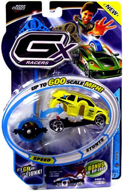 GX Racers Speed Series 4 Boosted Plastic Car [Rain Gyro]