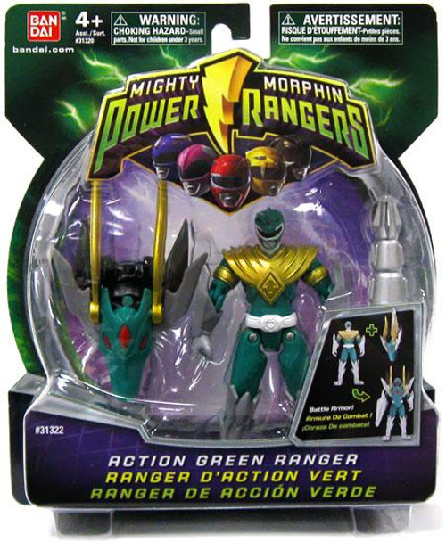 Power Rangers Mighty Morphin Action Green Ranger Action Figure