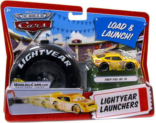 Disney Cars The World of Cars Lightyear Launchers Fiber Fuel No. 56 Diecast Car [With Launcher]