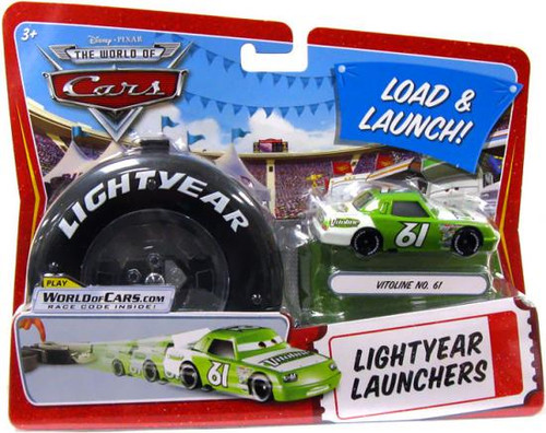 Disney Cars The World of Cars Lightyear Launchers Vitoline No. 61 Diecast Car [With Launcher]