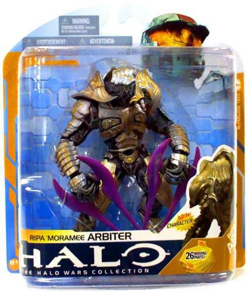 McFarlane Toys Halo Wars Series 8 Ripa 'Moramee Arbiter Action Figure