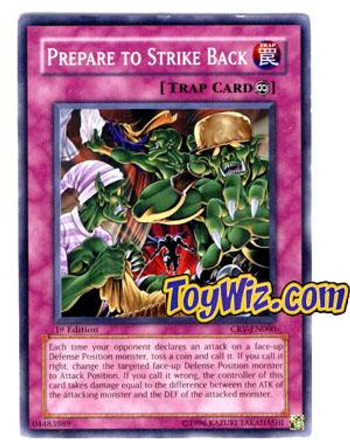 YuGiOh Cybernetic Revolution Common Prepare to Strike Back CRV-EN060