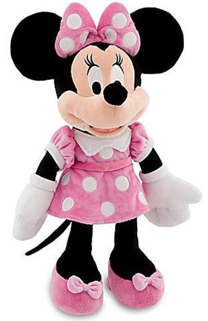 Disney Mickey Mouse Minnie Mouse Exclusive 17-Inch Plush [Pink Dress]