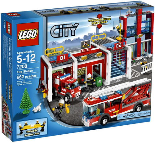 LEGO City Fire Station Set #7208