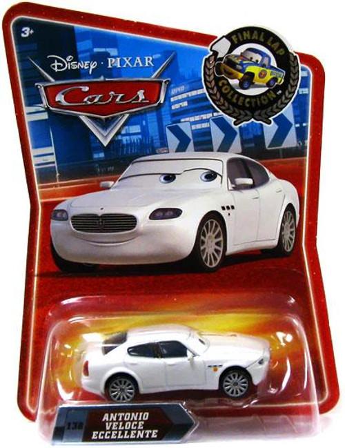 Disney Cars Final Lap Collection Antonio Veloce Eccellente Exclusive Diecast Car