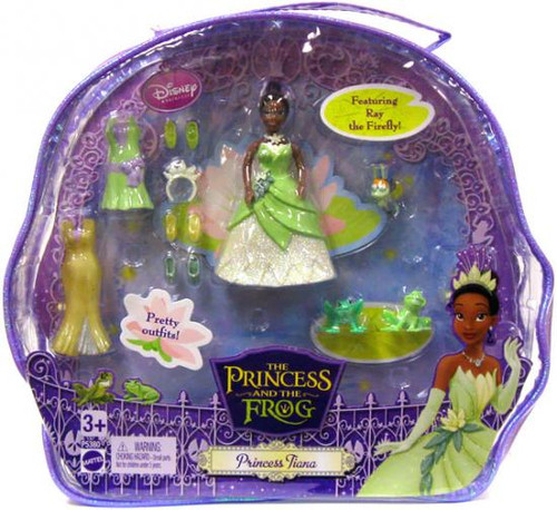 Disney The Princess and the Frog Princess Tiana Figure Set
