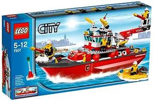 LEGO City Fire Boat Set #7207