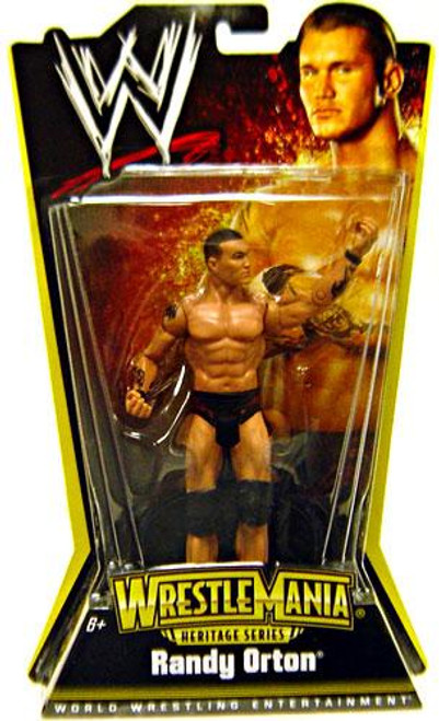 WWE Wrestling WrestleMania Heritage Series 1 Randy Orton Action Figure