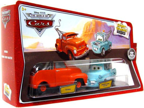 Disney Cars The World of Cars Story Tellers Bubba & Brand New Mater Diecast Car 2-Pack