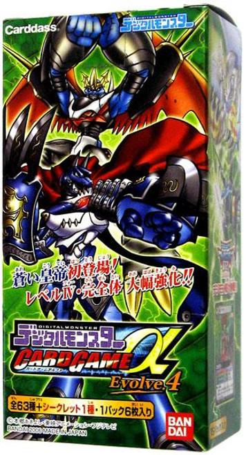 Digimon Japanese Evolve.4 Booster Box