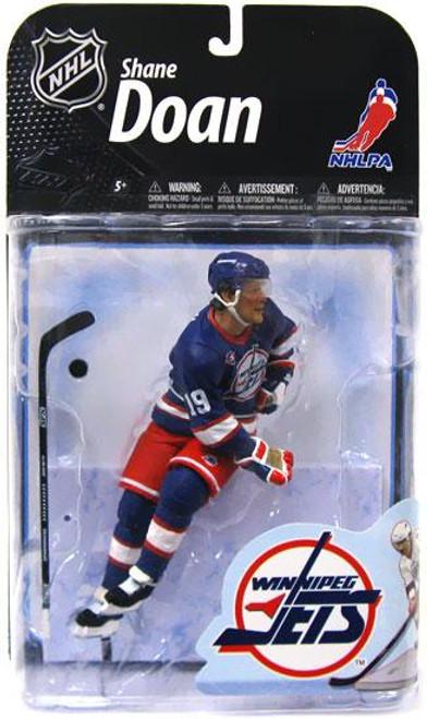 McFarlane Toys NHL Winnipeg Jets Sports Picks Series 22 Shane Doan Action Figure [Retro Blue Jersey]