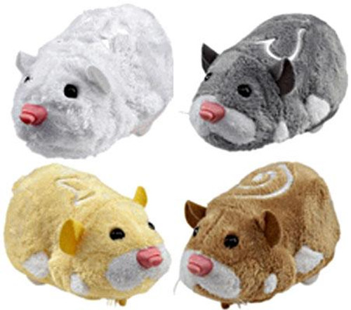 Zhu Zhu Pets Series 1 Set of 4 Hamster Toys