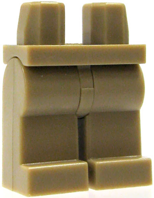 LEGO Minifigure Parts Dark Tan Legs Loose Legs [Loose]