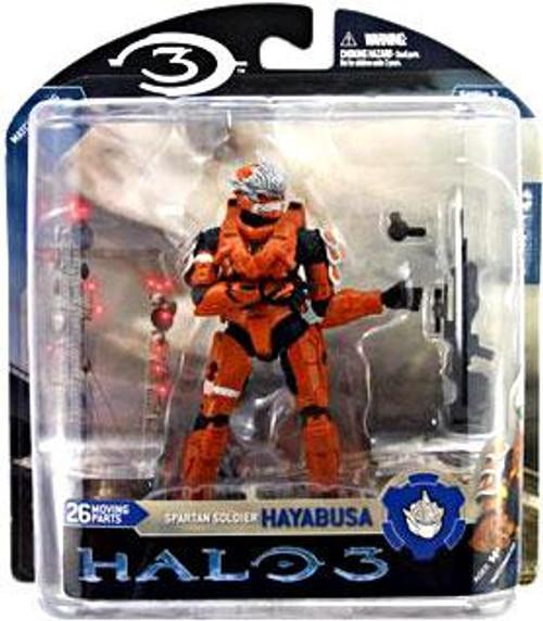 McFarlane Toys Halo 3 Series 3 Spartan Soldier Hayabusa Exclusive Action Figure [Orange]