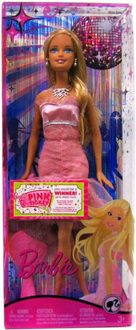 Fashion Fever Barbie Doll [Fancy Pink Dress]