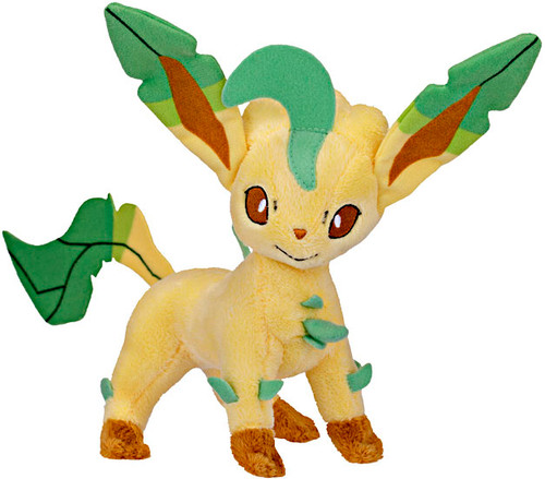 Pokemon Mini Plush Series 10 Leafeon 6-Inch Plush