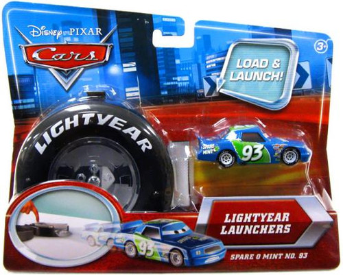 Disney Cars Lightyear Launchers Spare O Mint No. 93 Diecast Car