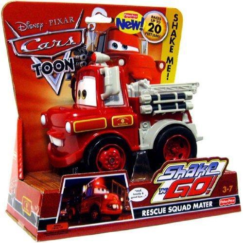 Disney Cars Cars Toon Shake 'N Go Rescue Squad Mater Shake 'N Go Car