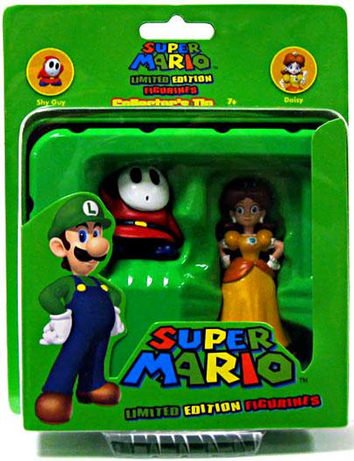 Super Mario Limited Edition Series 1 Shy Guy & Daisy Mini Figure 2-Pack