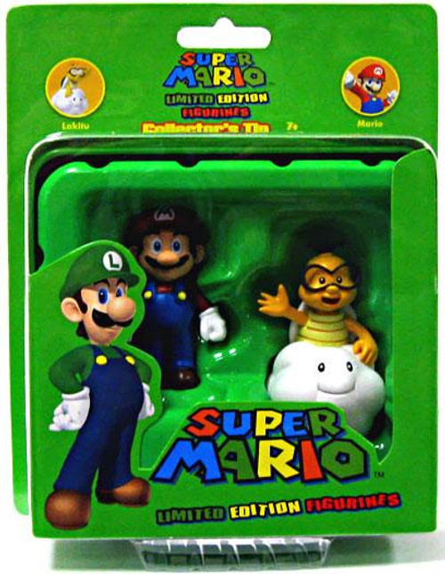 Super Mario Limited Edition Series 1 Lakitu & Mario Mini Figure 2-Pack