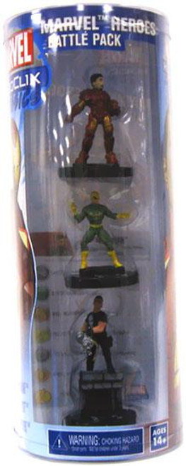 HeroClix Classics Marvel Heroes Battle Pack Figure 3-Pack
