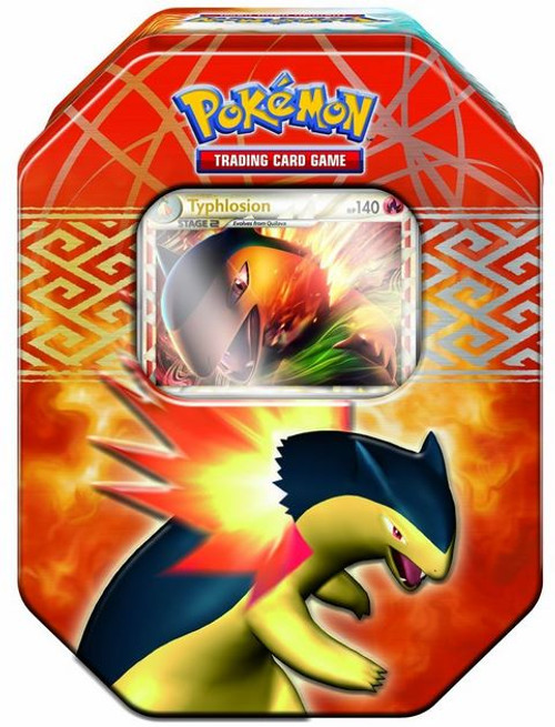 Pokemon HeartGold & Soulsilver Spring 2010 Typhlosion Collector Tin