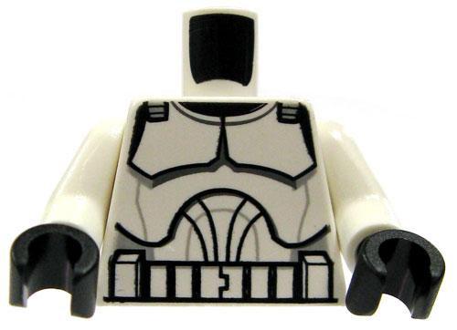 LEGO Star Wars Minifigure Parts Clone Pilot Armor Loose Torso [Loose]