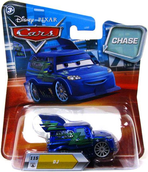 Disney Cars Lenticular Eyes Series 2 DJ Diecast Car [Chase]