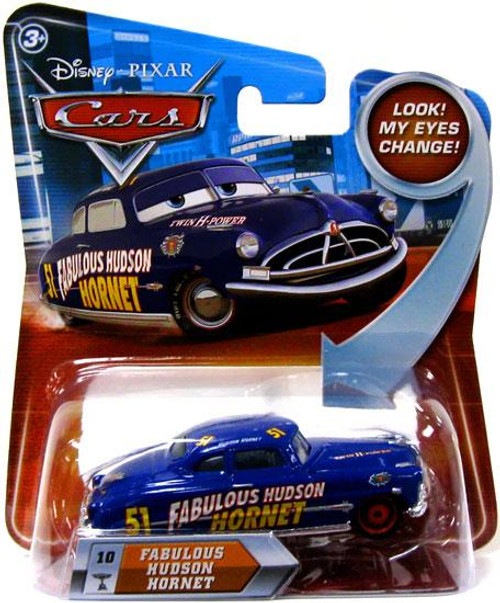 Disney Cars Lenticular Eyes Series 2 Fabulous Hudson Hornet Diecast Car
