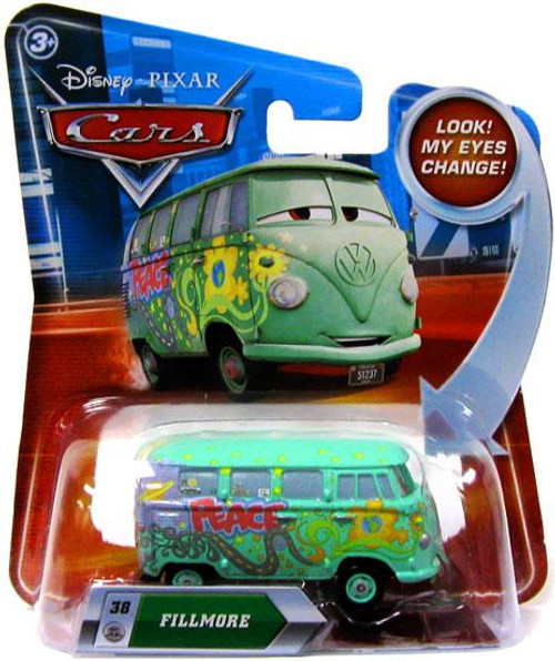 Disney Cars Lenticular Eyes Series 2 Fillmore Diecast Car
