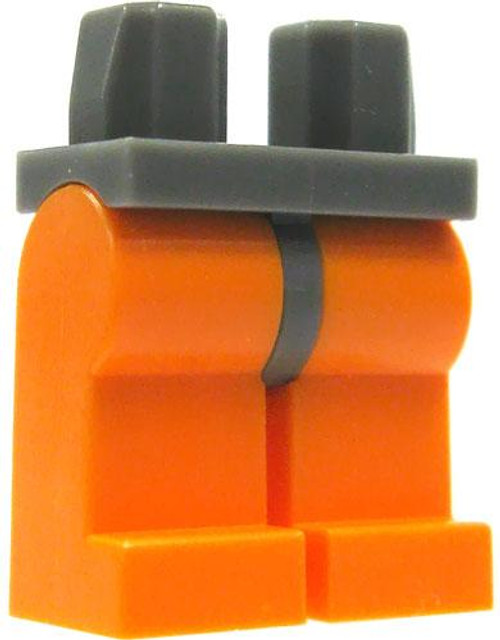 LEGO Star Wars Minifigure Parts Dark Gray with Orange Legs Loose Legs [Loose]