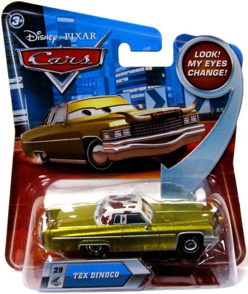 Disney Cars Lenticular Eyes Series 2 Tex Dinoco Diecast Car