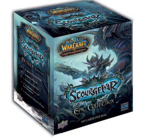 World of Warcraft Trading Card Game Scourgewar Epic Collection