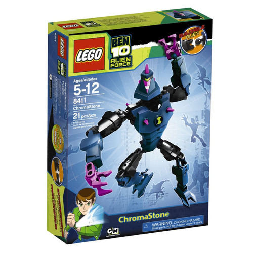 LEGO Ben 10 Alien Force Figures Chromastone Set #8411