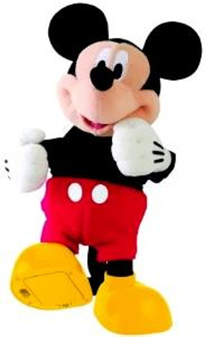Disney Mickey Mouse Clubhouse Hot Dog Dancer Mickey Mouse Plush