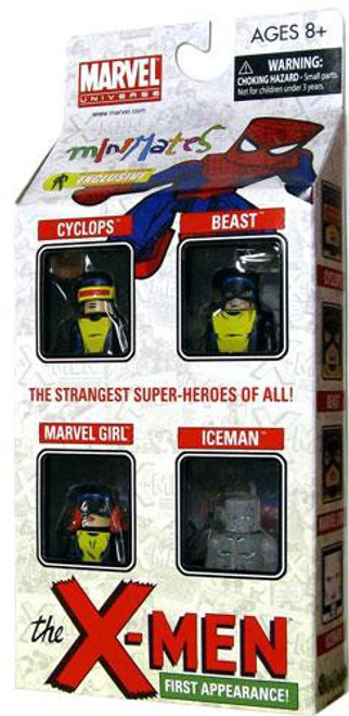 Marvel Universe Minimates Exclusives The X-Men First Appearance Exclusive Minifigure 4-Pack