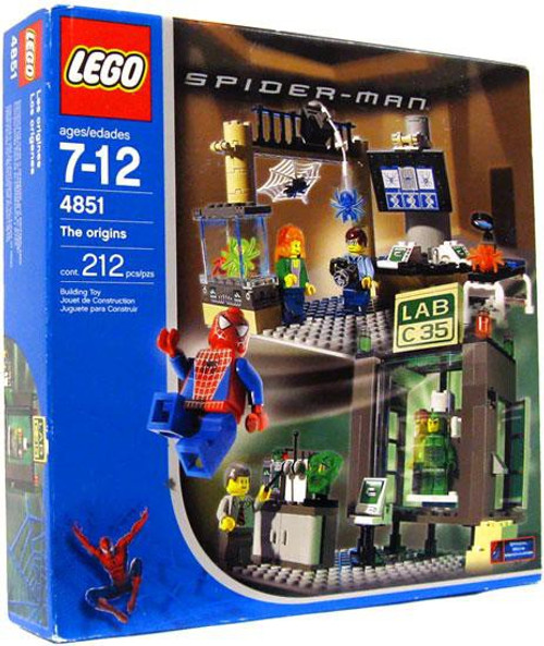 LEGO Spider-Man The Origins Set #4851