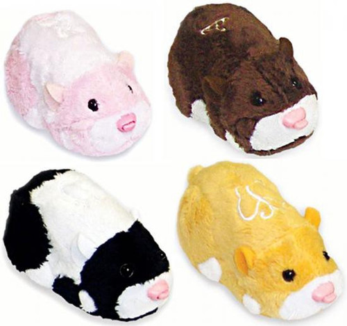 Zhu Zhu Pets Series 2 Set of 4 Hamster Toys