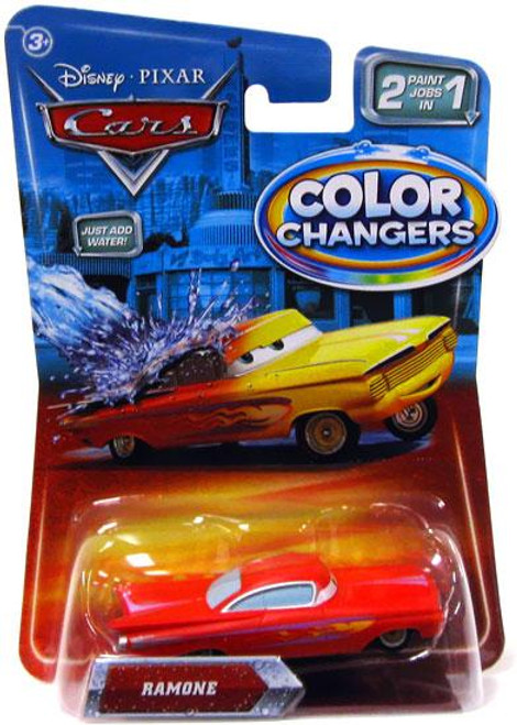 Disney Cars Color Changers Ramone Diecast Car [Red]