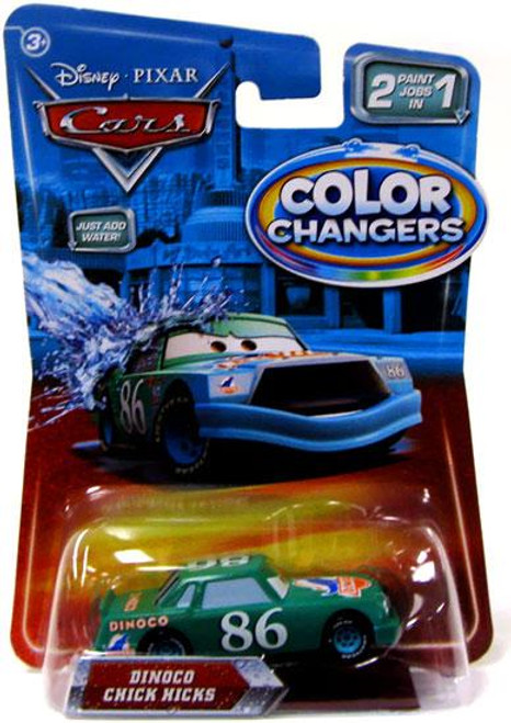 Disney Cars Color Changers Dinoco Chick Hicks Diecast Car