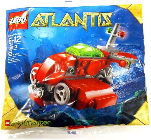 LEGO Atlantis Submarine Exclusive Mini Set #20013 [Bagged]