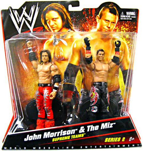 WWE Wrestling Series 2 John Morrison & The Miz Action Figure 2-Pack