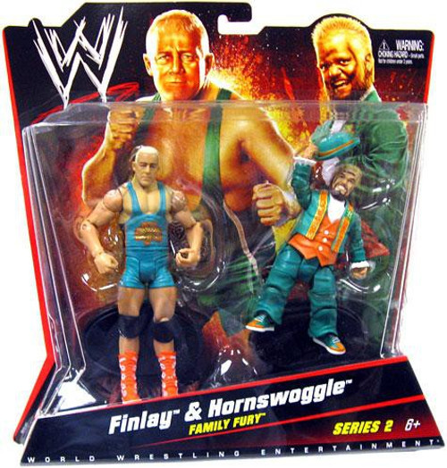WWE Wrestling Series 2 Finlay & Hornswoggle Action Figure 2-Pack