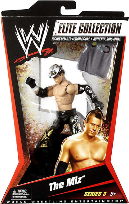 WWE Wrestling Elite Series 3 The Miz Action Figure