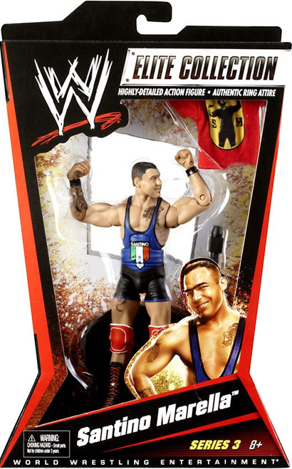 WWE Wrestling Elite Series 3 Santino Marella Action Figure