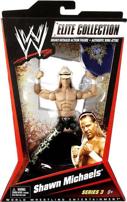 WWE Wrestling Elite Series 3 Shawn Michaels Action Figure