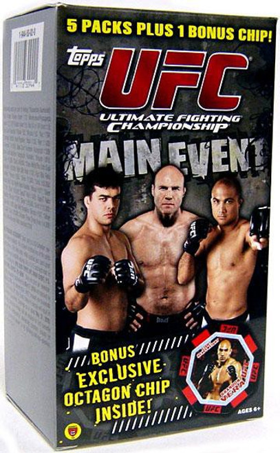 UFC 2010 Round 3 Main Event Trading Card Box [Value Blaster]