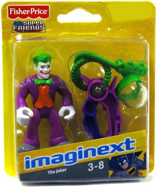 Fisher Price DC Super Friends Batman Imaginext The Joker Exclusive 3-Inch Mini Figure