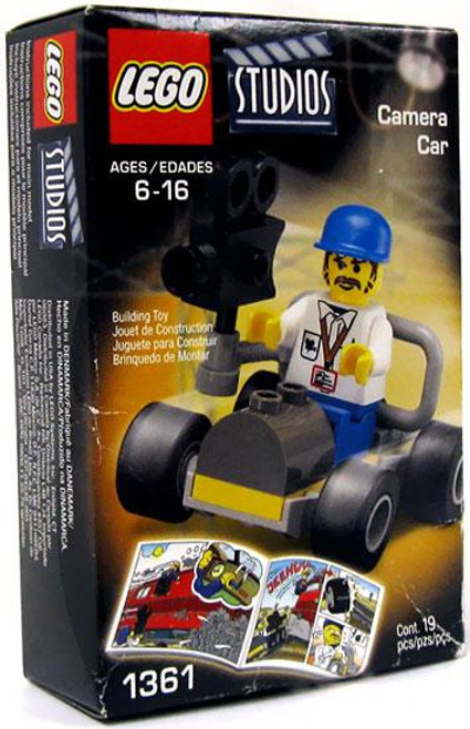 LEGO Studios Camera Car Set #1361